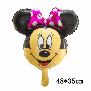 Giant Mickey Minnie Mouse Balloons Disney cartoon Foil Balloon Baby Shower Birthday Party Decorations Kids Classic Toys Gifts 8