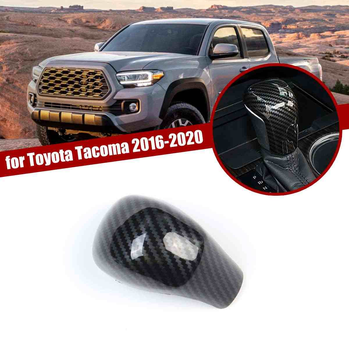 Red Accessories Gear Shift Knob Cover Trim For Toyota Corolla 2020