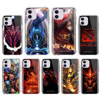 Airbag Anti Fall Capa For iPhone 7 8 11 Pro Max XS X XR 6 6S Plus SE 2020 Mobile Carcasa Coque Shadow Fiend Dota 2 1