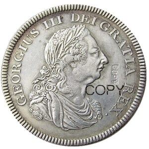 UF(18)-UF(19)GREAT BRITAIN TRADE DOLLAR 1804 GEORGE III Silver Plated Copy Coin(China)