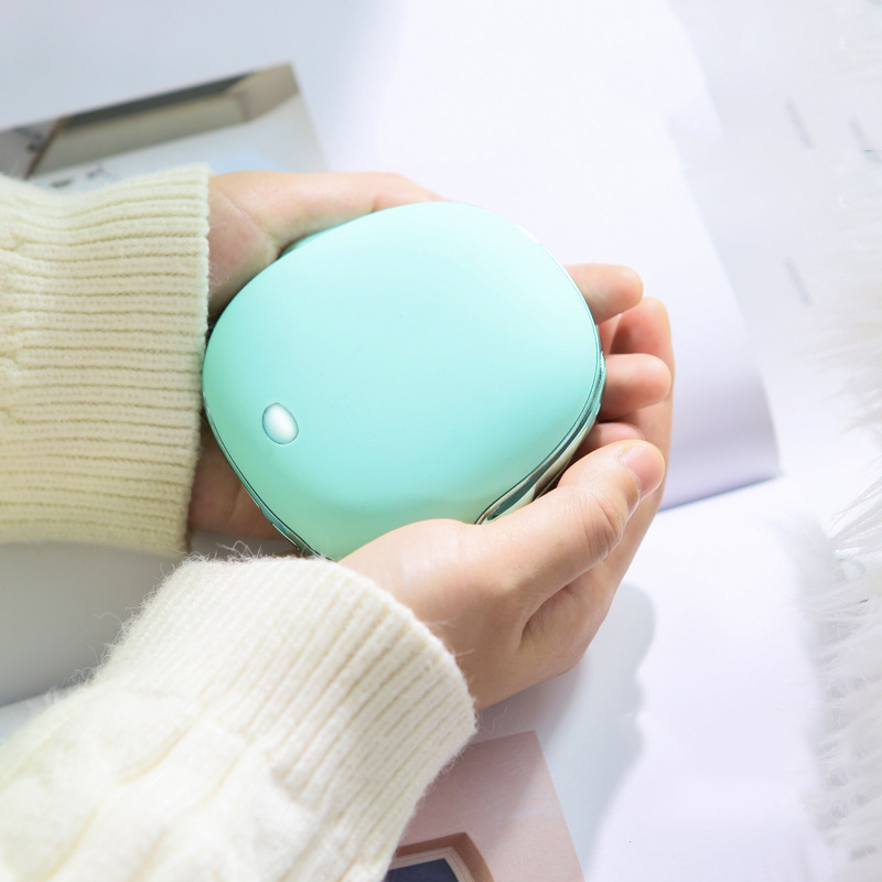 JISULIFE 2 In 1 USB Charging Portable Hand Warmer 2A Fast Charging 2 Speed Adjustment Heater For Winter Warming