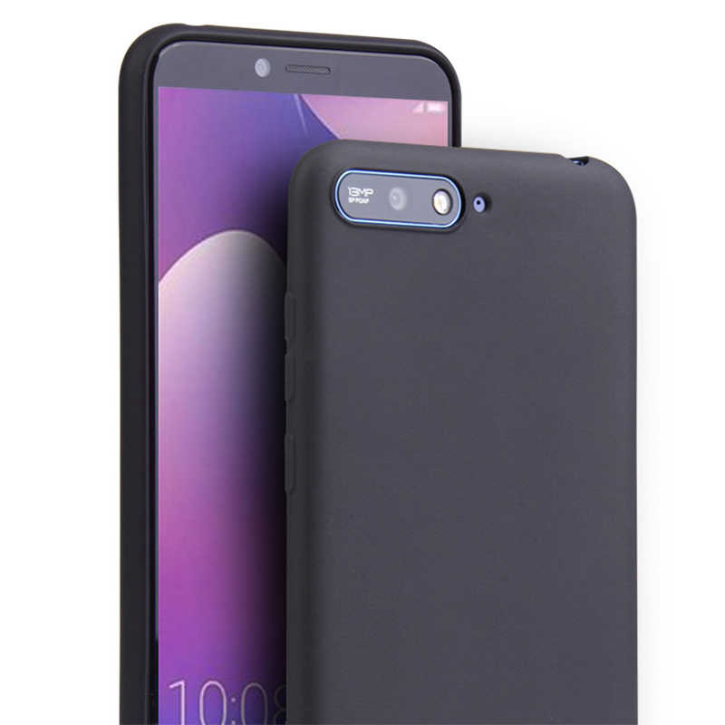 حافظة لهاتف Huawei Y9 Y5 Y6 Y7 Prime 2018 لون الحلوى لهاتف Honor 6A 6C 7A 7C Pro 5X 6X 7X 8X حافظة ناعمة لهاتف Honor 8 9 10 Lite V10 8 Pro