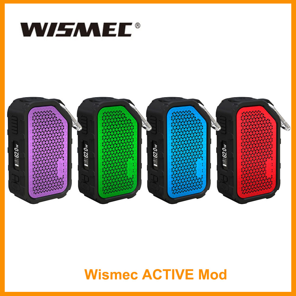 Clearance Original Wismec Active Box Mod Or With Amor NSE Tank Wismec Mod 2100mAh Battery In 3ml WS-M Coil E-Cig