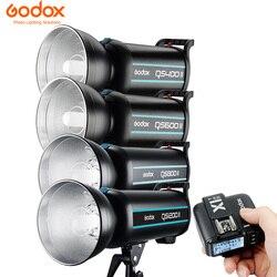 Godox QS400II 400WS / QS600II 600WS / QS800II 800WS / QS1200II 1200WS Studio Strobe with Built-in Godox 2.4G Wireless X System
