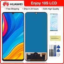 100% Nieuwe Voor Huawei P Smart S Lcd Touch Screen Digitizer Vergadering Vervanging Voor Huawei Y8p 2020 Lcd AQM-LX1 y8P Lcd