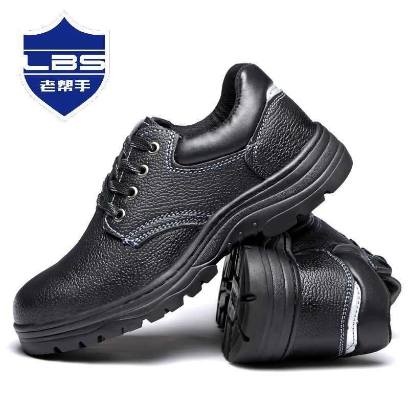 Cross Border For Safety Shoes Wholesale Anti-smashing And Anti-stab Safety Shoes Steel Head Anti-slip Wear-Resistant Safety Shoe