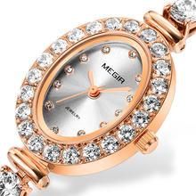 Женские часы браслет легкие роскошные с бриллиантами для отдыха