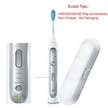 Philips HX9160/9140 Sonicare Elektrische Zahnbürste Verbessert Gum Gesundheit In Nur Zwei Wochen für Eine Belebende Tiefe Sauber für familie
