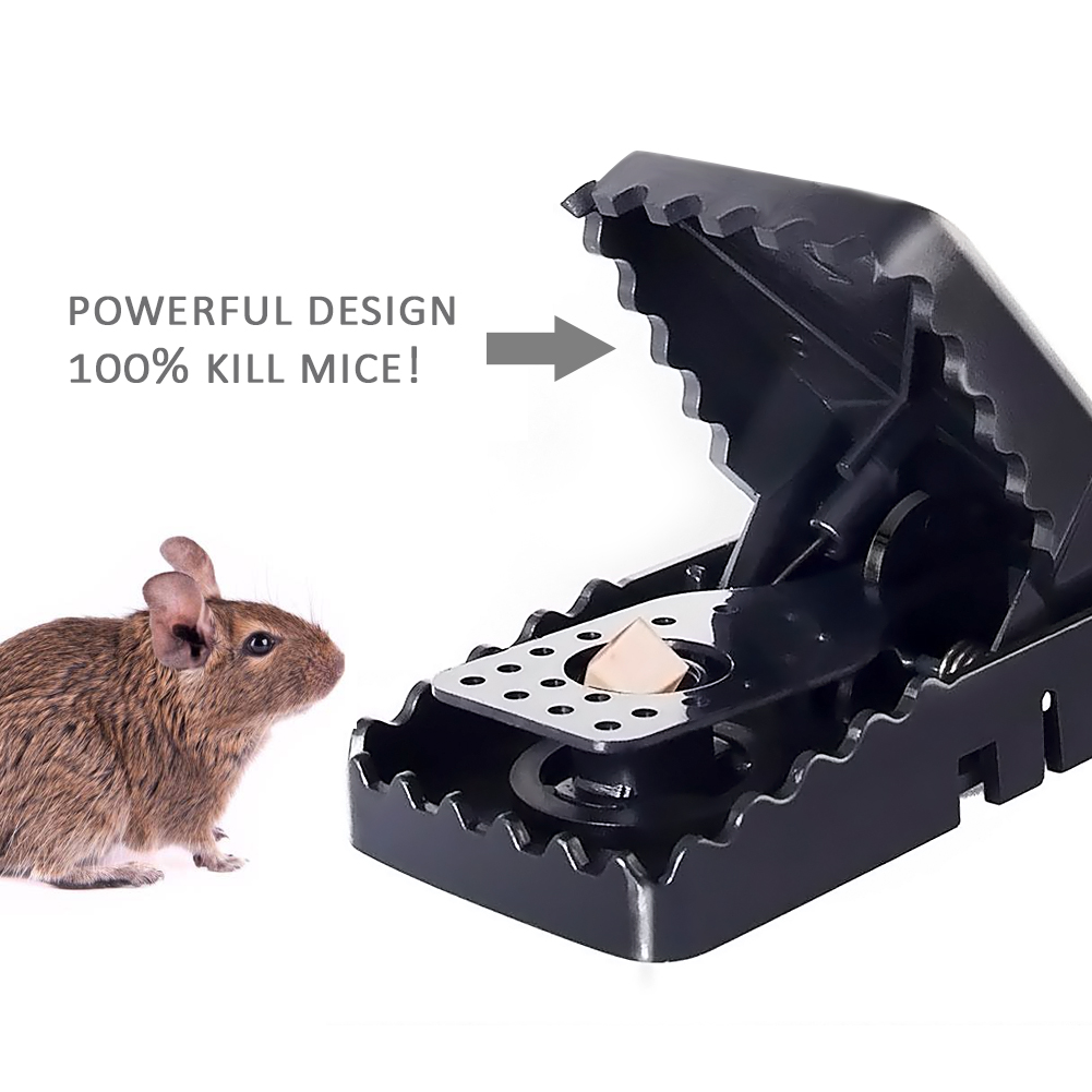 6Pcs/Lot Reusable Mice Mouse Traps Trap Mousetrap Catcher Killer Pest Control Traps Homehold Garden Supplies-1