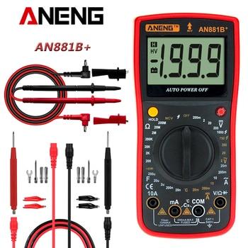 AN881B+ True Rms Digital Multimeter Tester Transistor Testers Manual High Precision Digitals Multimeter Tester Ac/Dc Multi Meter