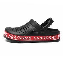 2020 New Tendy Summer Crocs Shoes Man Sandals Clogs Crocks Man Shoes Blue Black
