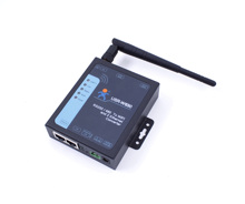 USR W630 port série RS232 RS485 vers WIFI serveur de convertisseur Ethernet 2 ports Ethernet prennent en charge Modbus RTU vers TCP