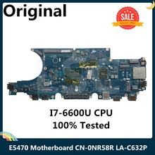 CPU Laptop Motherboard Dell Latitude LA-C632P for E5470 with SR2F1 I7-6600u/Cpu/Cn-0nr58r/..