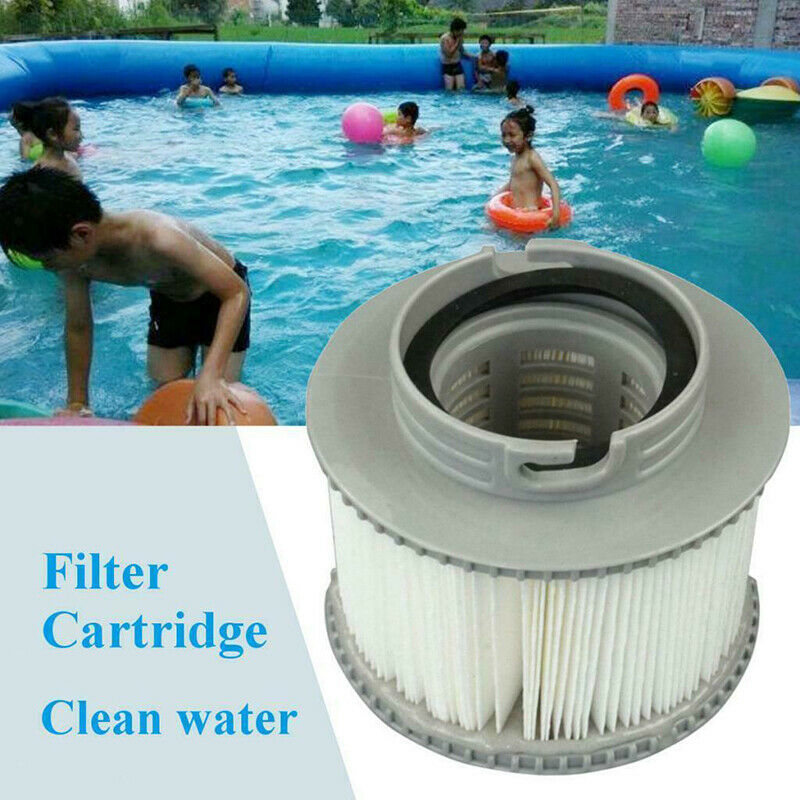 MSPA FD2089 Round Tool Inflatable Swimming Pool Universal Strainer Hot Tub Part Replacement Filter Cartridge Spas