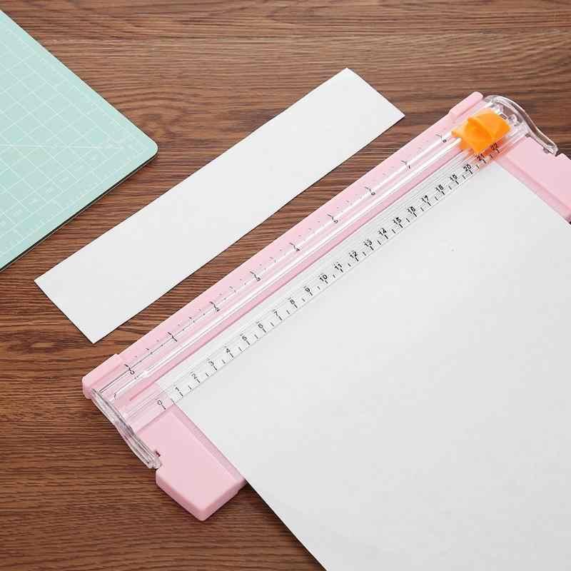 แบบพกพา A4/A5 กระดาษ Trimmer ใบมีดตัดกระดาษตัดใบมีด Art Trimmer ตัดภาพสำนักงาน Scrapbooking