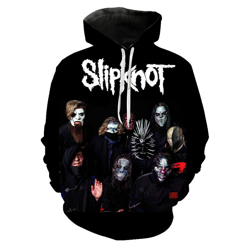 Slipknot Hoodies Men Women Children Hip Hop Band Sweatshirt Harajuku Streetwear Cool 3D Print Hoodie Casual Hoody Coat Pullover