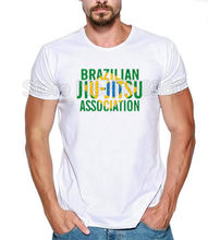 2019 Men Brazilian Jiu Jitsu Print TShirt Mens Short NEW Can-Am T-shirt summer short-sleeved tshirt CAN-AM BRP cool T-Shirt(China)