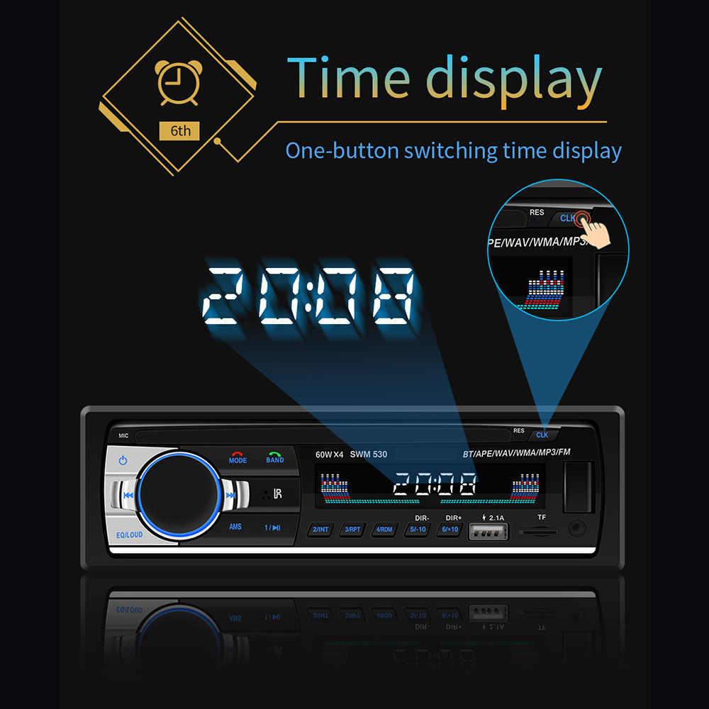 車トランスミッタ MP3 プレーヤー JSD-520 デュアル USB 充電自動ラジオオーディオ 1Din ステレオ Bluetooth トランスミッタリモートコントロール車のオーディオ