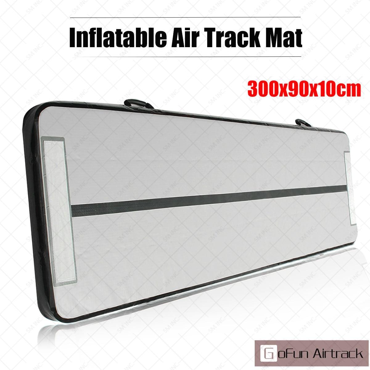 Cheerleading Mini Inflatable Gymnastics Airtrack Tumbling Air Mat Floor For Home Use Training
