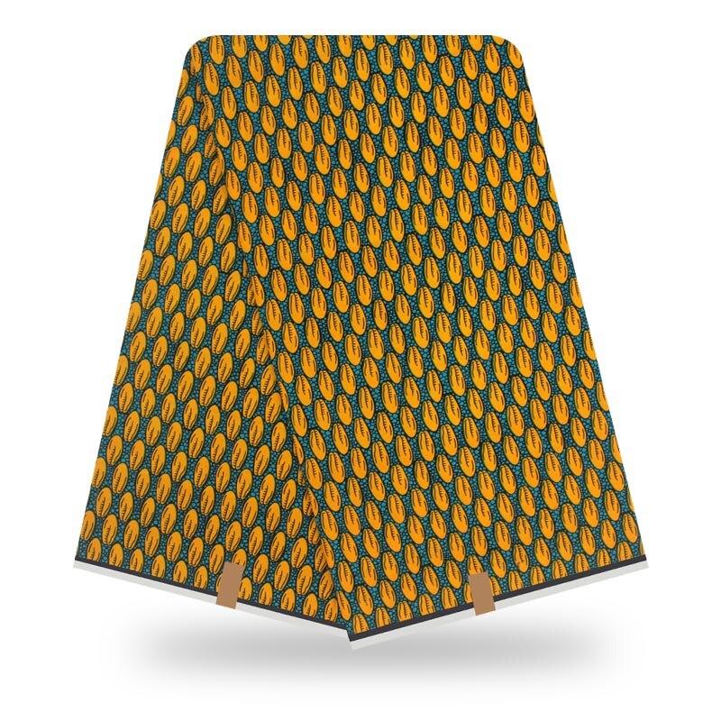 2020 African High Quality Ankara Veritable Real Dutch Wax 100% Cotton Fabric African Print Wax Fabric Pagne Avogan