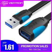 Vention USB2.0 3,0 кабель-удлинитель для мужчин и женщин кабель-удлинитель USB3.0 кабель-удлинитель для портативных ПК USB кабель-удлинитель