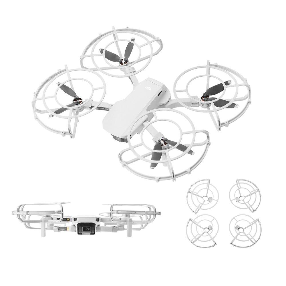 Liberação rápida dji mini 2 hélice guarda protetor dron lâminas de proteção anel para mavic mini/mini 2 acessórios acessórios