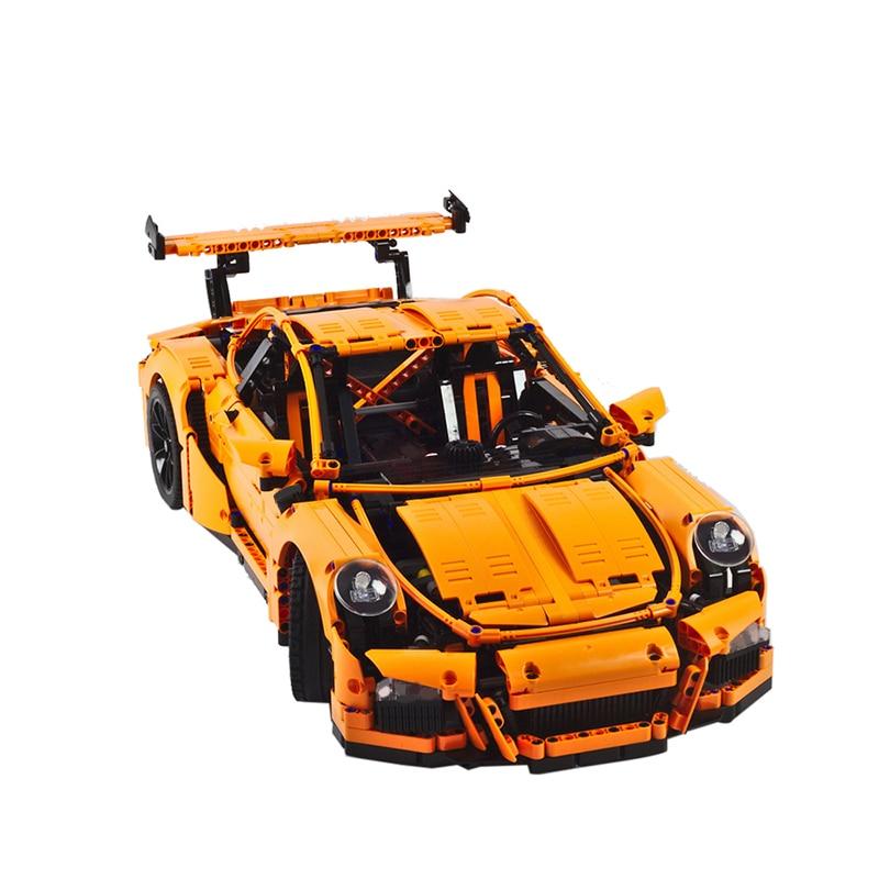 Sports Car Series Technic MOC-8003 42056 911 Sport Car Set Cars Building Blocks Bricks Lepining Diy Toy Christmas Gift