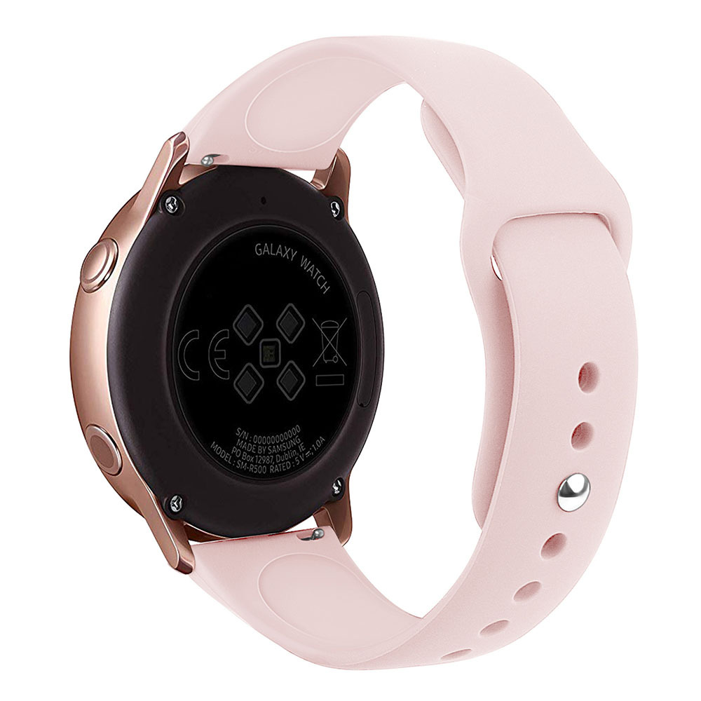 20mm 22mm Silicone Watchband Samsung Galaxy Watch Watch Active 42mm 46mm Bracelet Band Strap For Gear S2 S3 Huami Amazfit Bip
