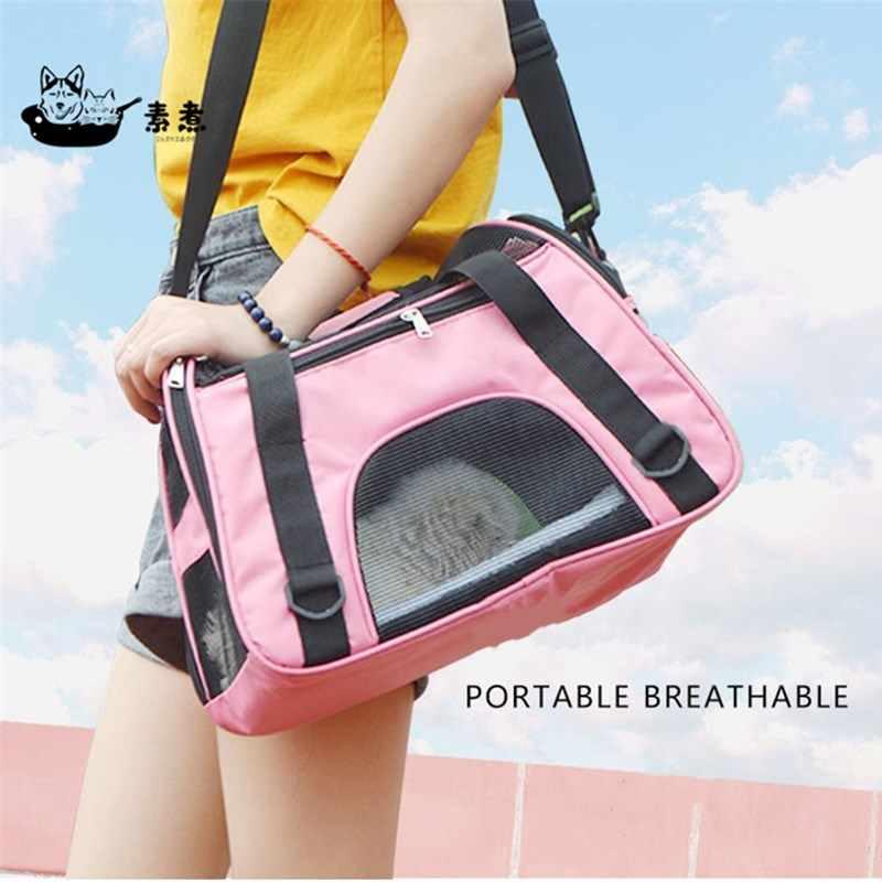 Dog Bags Portable Dog Carrier Bag Mesh Breathable Carrier Bags for Small  Dogs Foldable Cats Handbag Travel Pet Bag Transport Bag|Dog Carriers| -  AliExpress