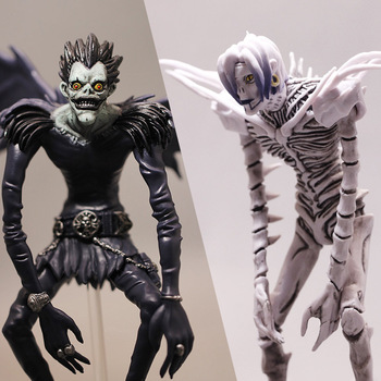 24cm Anime Figure Action Figure Death Note Figure Toy Rem Ryuuku PVC Resin Collectible Figure Anime Action Figures Figurine japanese hot anime tales of zestiria edna 1 8 scale 23cm 9inch painted pvc collectible figure
