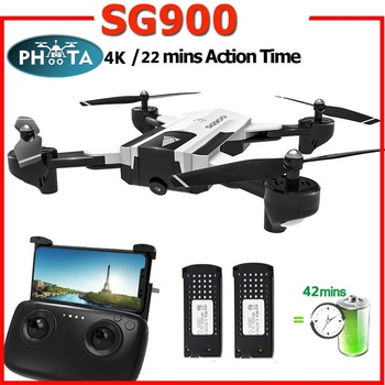 2019 SG900 50x Zoom RC Drone With 4K HD Camera Professional selfie FPV 22minutes long flight Quadcopter Follow Me Helicopter Toy 1