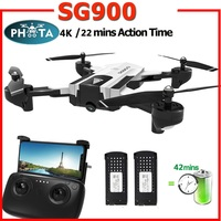 2019 SG900 50x Zoom RC Drone With 4K HD Camera Professional selfie FPV 22minutes long flight Quadcopter Follow Me Helicopter Toy