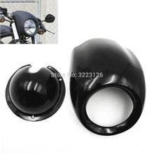 Motosiklet yüksek kaliteli far far Fairing kukuletası kapağı için Fit Harley VROD V gece çubuğu Dyna FX Sportster XL VRSC