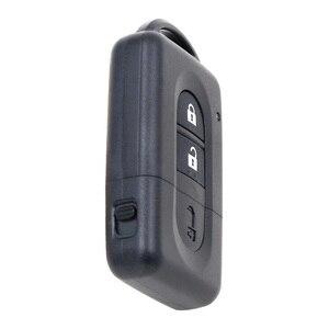 Image 2 - เปลี่ยน Key Case SHELL FOB 2 ปุ่มสำหรับ Nissan Micra X Trail Qashqai Juke Duke Pathfinder Note with uncut Key Blade