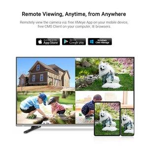 Image 5 - Hamrotte cámara IP de 5MP Onvif, micrófono interno con detección de movimiento, visión nocturna, domo interior, Web, Xmeye, acceso remoto, H.265