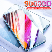 Official Full Cover UltraGlass Screen Protector For iPhone 11 Pro 12 Mini Glass For iPhone 6 7 8 Plus X Xs Max XR Tempered Glass