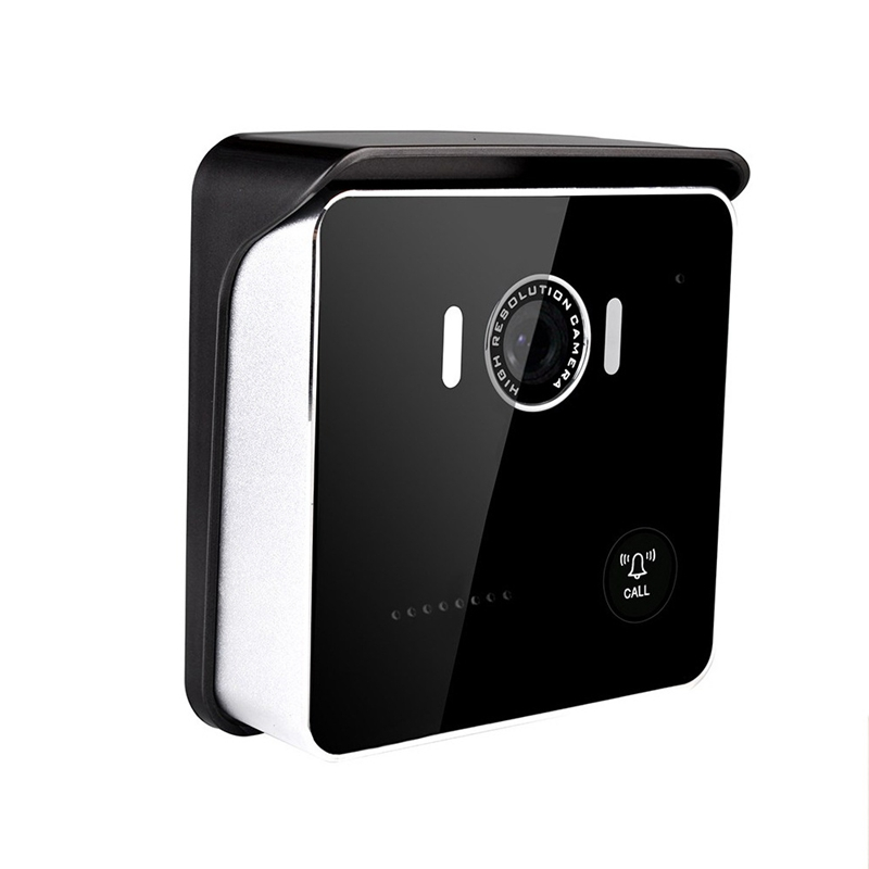 ABKT-Home HD 7 Inch Color Video Doorbell Monitoring Unlocking Building Intercom Night Vision Monitoring Intelligent Electronic A