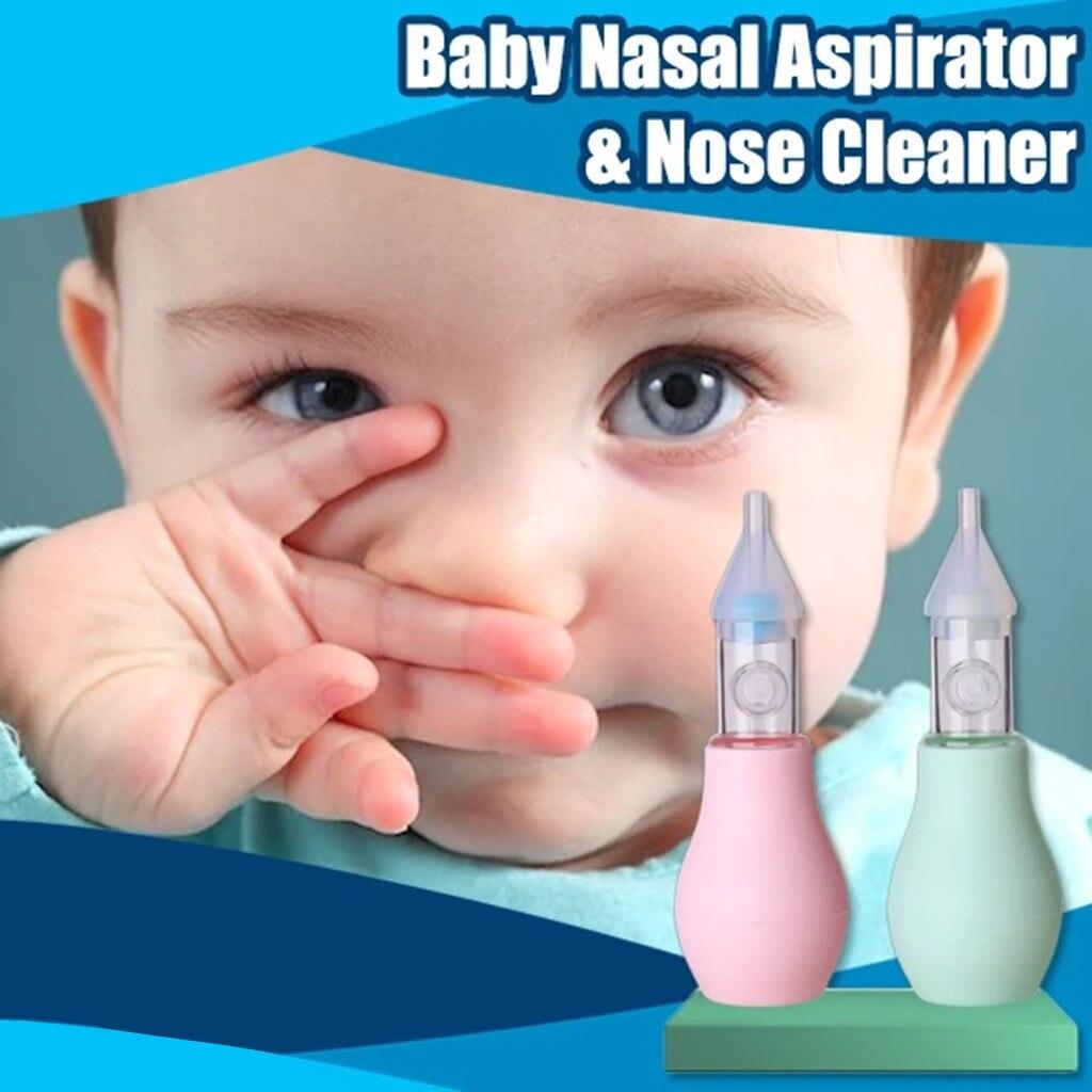 Cabeza Suave Bebé Aspirador Nasal De Vacío Vac Limpiador de nariz de succión orrszi porszi