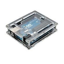 MEGA2560 מגה 2560 R3 מעטפת (ATmega2560 16AU CH340G) AVR Placa de desarrollo USB MEGA2560 מקרה para arduino