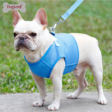 New Pet Chest Strap Mesh Dog Sleeve Leash Small Walking Rope Vest dog harness vest  pet supplies