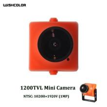 Câmera FPV 25mm x 25mm HD Câmera Zangão FPV 1020*1920 1200TVL CMOS 2.5 milímetros 130 ° 16/9 câmeras para RC Zangão