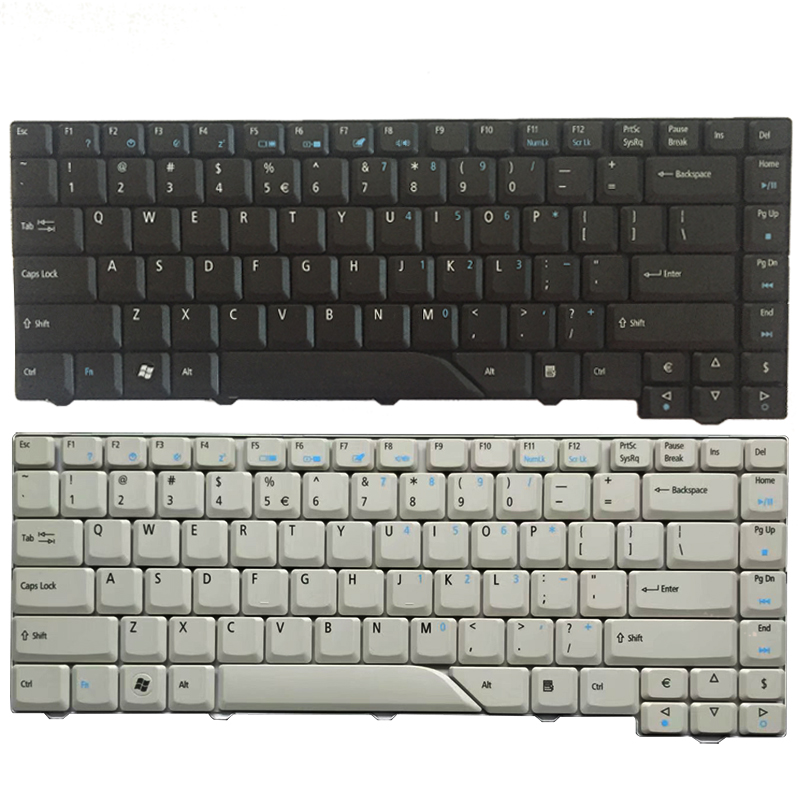 US laptop Keyboard for <font><b>Acer</b></font> <font><b>Aspire</b></font> 4210 4220 4520 4710 4720 <font><b>4920</b></font> 5220 5310 5520 5710 5720 5235 5910 5920 5930 6920 black/white image