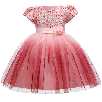 Kids Lace Girls Dress For Wedding and Party Dresses Evening Christmas Girl long Costume Princess Children Fancy 6 14Y