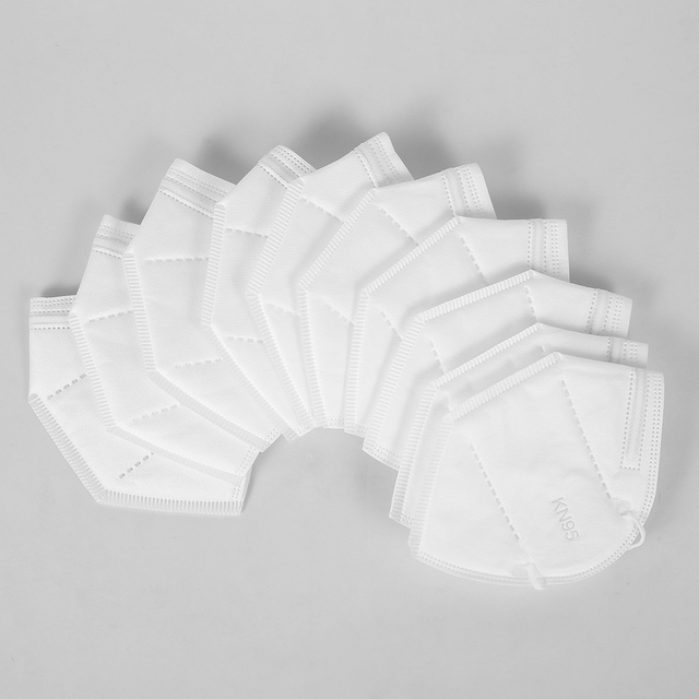 10/20/40/50/100pcs Anti Dust KN95 Masks Filter Face Mouth Mask Anti Fog for Personal Protect Home Mask In Stock wholesale price 2