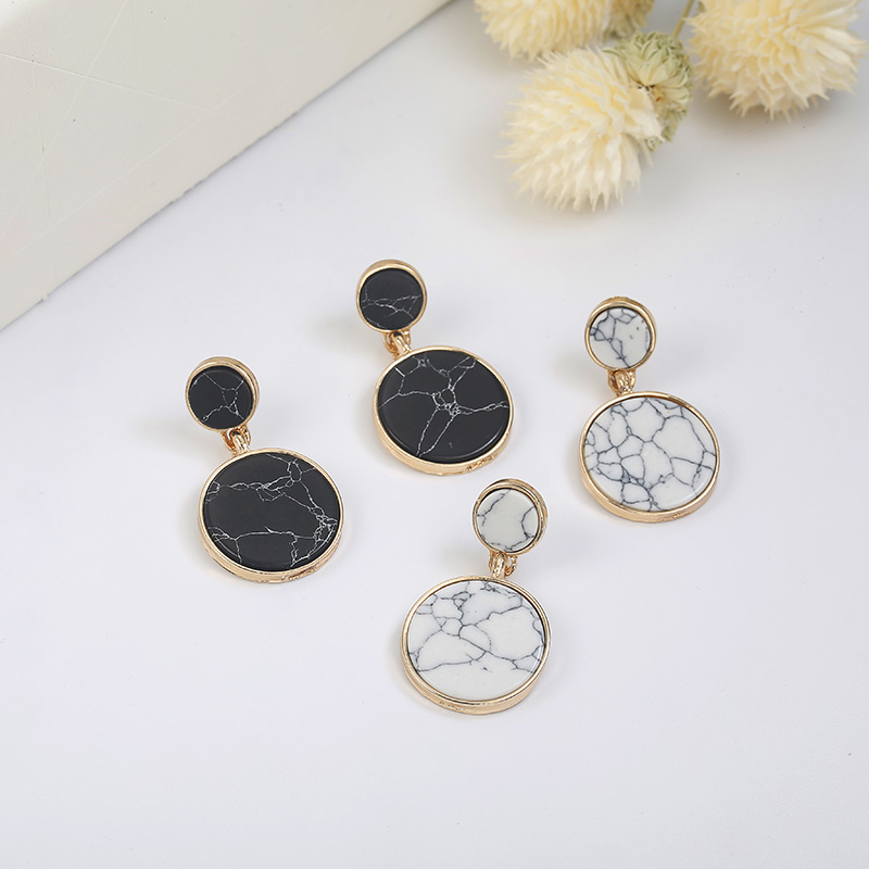 H9fe3b8cabf60485199f91bf55d392b87q - Charm Hollow Geometric Pendant Earrings