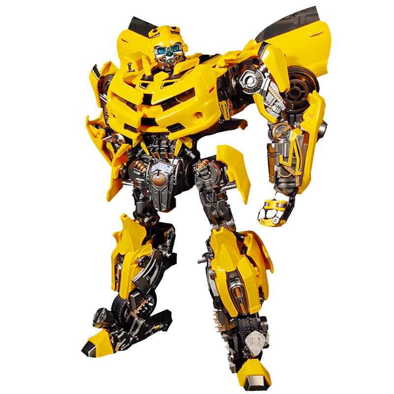 Transformers Enlarged Mpm03 Metal Version Of The Bumblebee Warrior Toy Hot