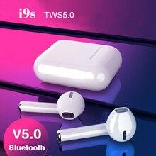 i9s Wireless Bluetooth Earphone TWS 5.0 Earphones HS Ear Bin