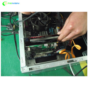 Image 3 - Best selling LINSN sending card TS802D for full color video led display parts controller system