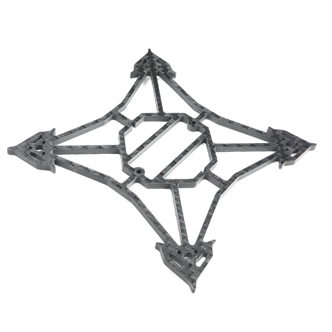 Happymodel Larva X Frame Kit 100 мм Колесная база 2-3S 2,5 дюйма бесщеточный FPV гоночный Дрон 3 мм углеродное волокно стойка