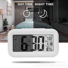 The Temperature for cong ming zhong Mute Clock Clock Light Alarm Clock Snooze cong ming zhong Fashion Led Alarm Clock ding guang qi zhi wu zhong ming shi